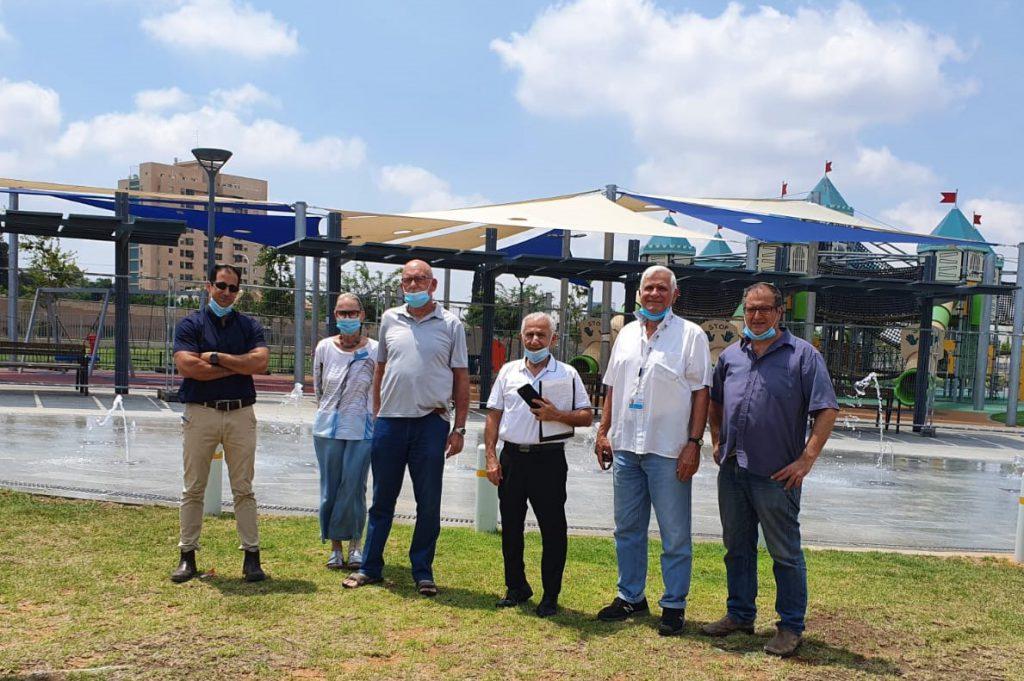 חברי המועצה לישראל יפה בגבעת שמואל