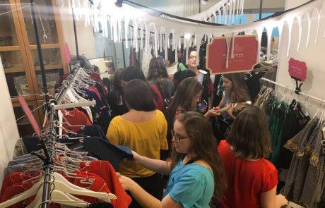 מאות משתתפים ועשרות סטייליסטיות ביריד האופנה בגבעה