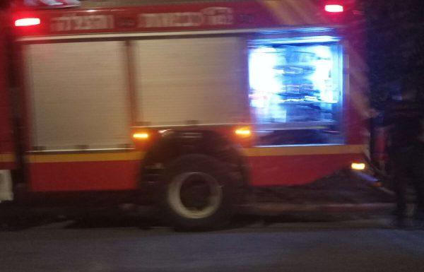 ראשוני: שריפה בחניון תת קרקעי ברמת הדר