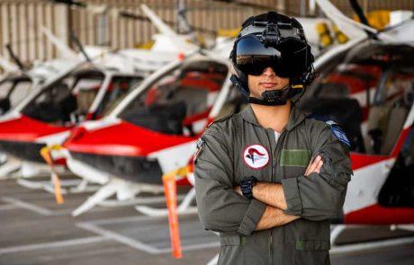 הטובים לטייס   גאווה – א' מגבעת שמואל מסיים היום קורס טייס