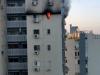 ראשוני: שריפה בבניין ברחוב רחבת האילן גבעת שמואל. במקום פצועים קל