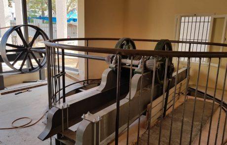 הצצה ראשונה לפרויקט שיחזור בית הבאר בפארק רמון