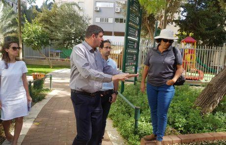 """לא רק ב""""שנת בחירות"""": תכנית רחבה בהיקף 8 מיליון ₪ לשדרוג וחידוש שכונת רמת אילן"""