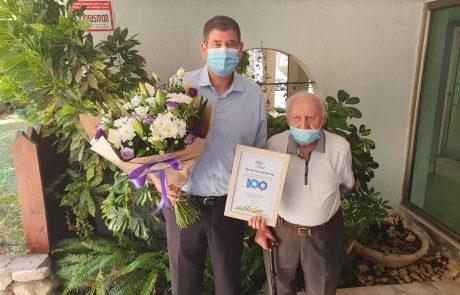 """לא מסתפקים ב""""עד 120″: 14 תושבי גבעת שמואל חגגו השנה 100"""