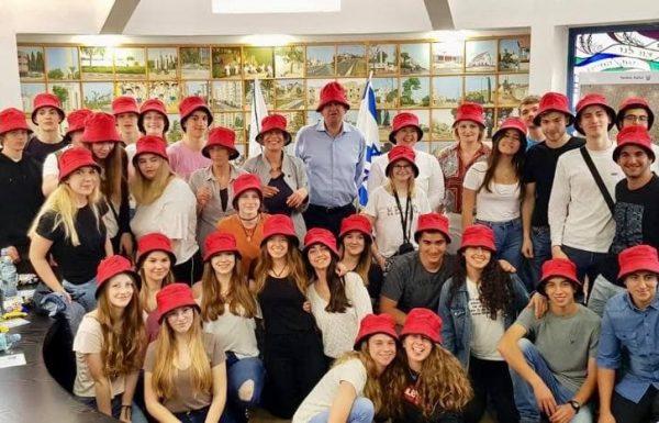 הזמן לחיבורים: משלחות נוער מפולין ומגרמניה התארחו בגבעת שמואל