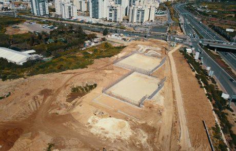עבודות פיתוח הפארק הדרומי עולות שלב – צפו בתמונות
