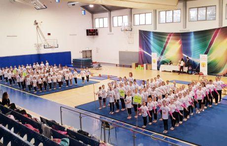 אליפות הליגה להתעמלות למגזר הדתי התקיימה השבוע בגבעת שמואל