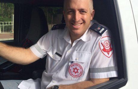 """הכירו את גלעד(גיגי) טואסי חובש מתנדב במד""""א וחבר בועדת הביטחון העירונית"""