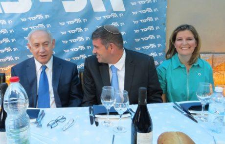 המפגשים הפוליטיים של ביבי ובנט בגבעת שמואל