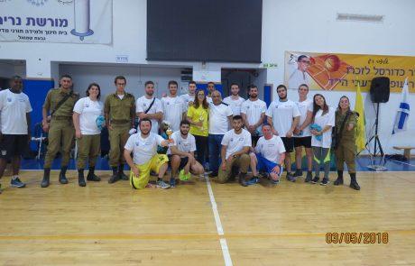 """מאות ילדים השתתפו בטורניר כדורסל לזכרו של חלל צה""""ל תושב הגבעה עופר שרעבי ז""""ל"""