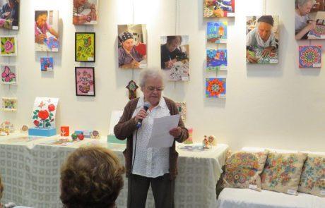 יוצרים בבית, מציגים בקהילה: תערוכת שורדי השואה בני גבעת שמואל