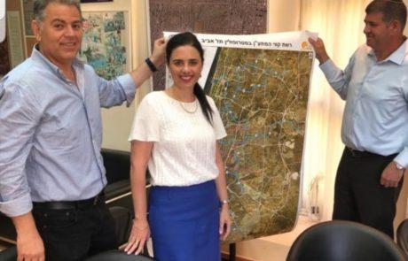 רכבת קלה, חינוך והמשך פיתוח העיר – איילת שקד ביקרה בגבעת שמואל