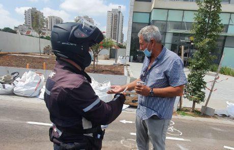 """מאות ק""""ג של פסולת בניין ועשבייה פונו מרחבי העיר – קנסות נרשמו למפרי החוק"""