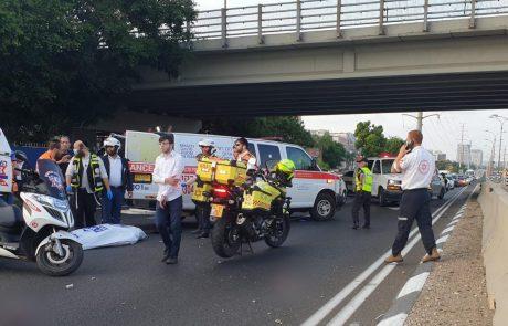 הרוג בתאונת דרכים במחלף גבעת שמואל